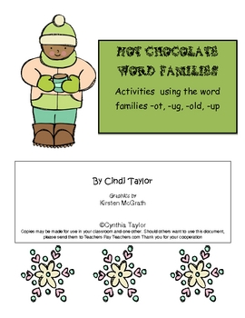 Hot Chocolate Word Families