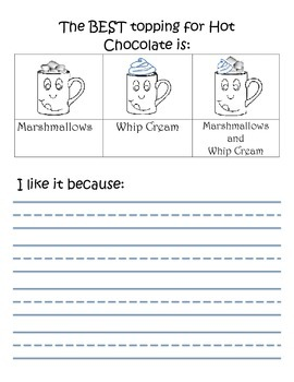 Hot Chocolate Writing: How to and opinion