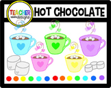 Hot Chocolate and Marshmallow Clip Art
