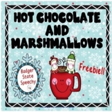 Hot Chocolate and Marshmallows Freebie!