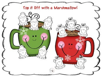 Hot Chocolate and Marshmallows Freebie!