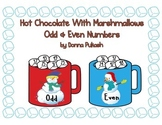 Hot Chocolate with Marshmallows- Odd and Even Numbers- Snowmen/Winter Animals