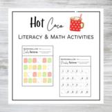 Hot Cocoa Literacy & Math Activities