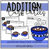 Hot Cocoa Addition Task Cards