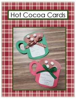 Hot Cocoa Cards *Holiday Craft*
