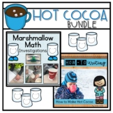 Hot Cocoa Chocolate Bundle | Winter Math and Writing Activ