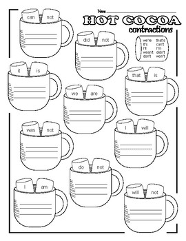 Hot Cocoa Contractions