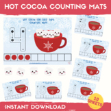 Hot Cocoa Counting Activity Numbers 1-10 Count Winter Math
