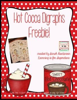 Hot Cocoa Digraphs {freebie}