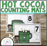 Hot Cocoa / Hot Chocolate  Counting Mats 1 - 20