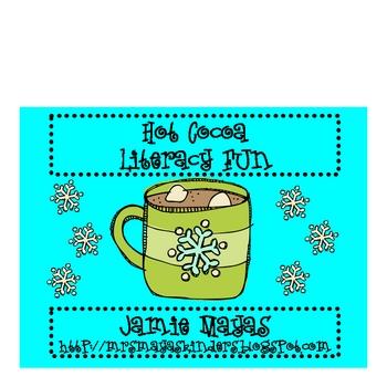 Hot Cocoa Literacy Fun