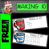 Hot Cocoa Making 10 Cards