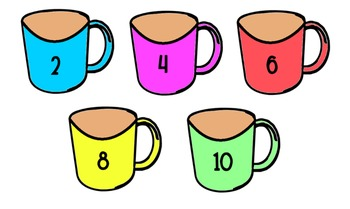 Hot Cocoa: Matching Number Activity