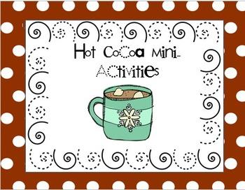 Hot Cocoa Mini-Activities Freebie