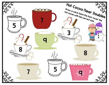 Hot Cocoa Near Doubles 1.OA.6