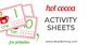 Hot Cocoa Number Activity Sheets {Free Printable}