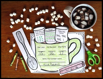 Hot Cocoa Numbers- Number Sense and Place Value