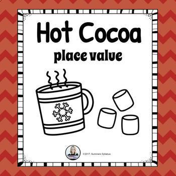 Hot Cocoa Place Value Math Center