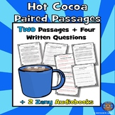 Hot Cocoa Reading Comprehension: Winter Reading Comprehension + Audiobooks