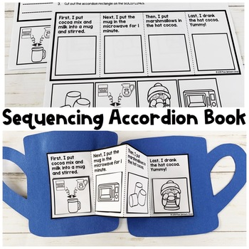 Hot Cocoa Recipe and Sequencing Activity | Special Education Resource