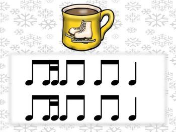 #HappyBirthdayKodály Hot Cocoa Rhythms 1eighth 2sixteenth TiTika/Ti Tiri/Ti Tipi