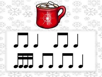 Hot Cocoa Rhythms sixteenth notes Tika Tika/Tiri Tiri/Tipi Tipi