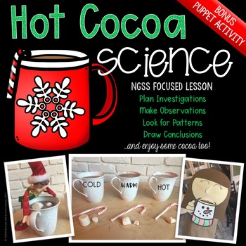 Hot Cocoa Science - December STEM Activity - Christmas Science Activity