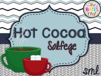 Hot Cocoa Solfege Sol-Mi-La