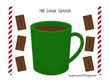 Hot Cocoa Speech Therapy Game