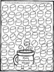 Hot Cocoa Speech and Language Drill Sheet FREEBIE