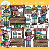 Hot Cocoa Stand Clip Art