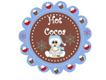Hot Cocoa Stand Sign