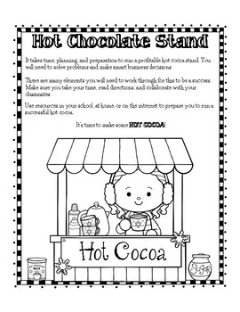 Hot Cocoa Stand and Lemonade Stand