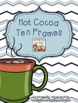 Hot Cocoa Ten Frames