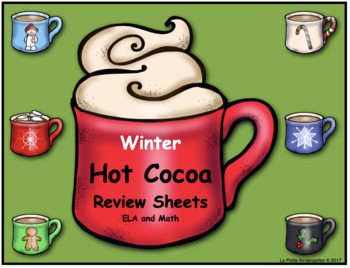 Hot Cocoa Themed Review Sheets