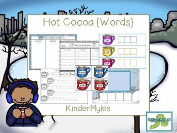 Hot Cocoa {Word Wall}