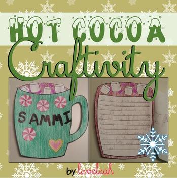 Hot Cocoa Writing Craftivity