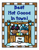 Hot Cocoa stand Dramatic Play set