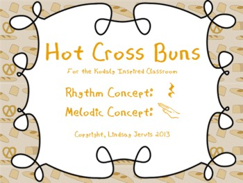 Hot Cross Buns: A song for teaching ta rest and re