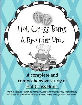 Hot Cross Buns Recorder Unit