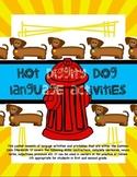 Hot Diggity Dog Language Activities