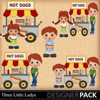 Hot Dog Cart 1