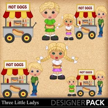Hot Dog Cart 3