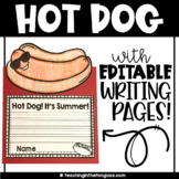 Hot Dog Summer Craft   End of Year Craft   End of Year Activities
