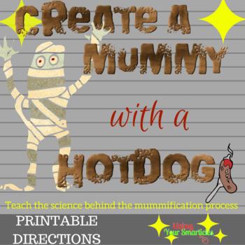 Hot Dog Mummy
