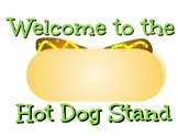 Hot Dog Stand Dramatic Play