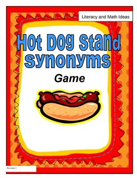 Hot Dog Stand Synonyms:  Free Vocabulary Game