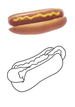 Hot Dog Word Search