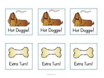 "Sight Words: ""Hot Doggie!"" Dolch Words Game - Pre-Primer & Primer Words Edition"