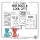 Art Lesson: Hot Dogs and Cool Cats: A Lesson about Warm and Cool Colors